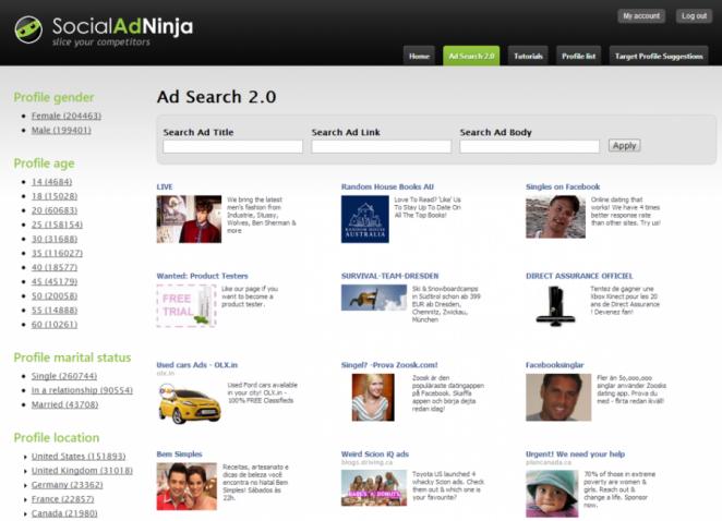 Saber Marketing Socialadninja Benchmarking