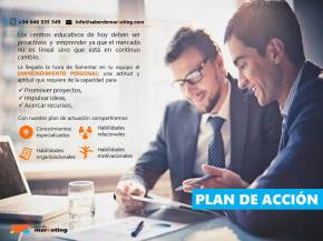 plan accion marketing educativo