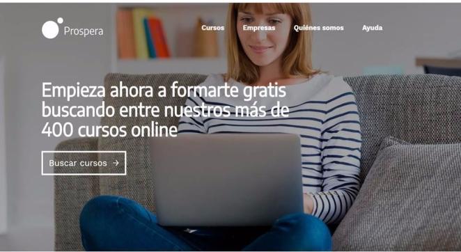 Cursos Prospeta Formacion online gratuita paratrabajadores